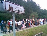 15 августа в Брестской епархии начался крестный ход к польской горе Грабарке