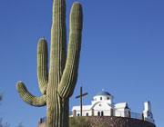 Аризона: монастырь среди кактусов (ФОТО)