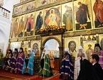 Святейший Патриарх Кирилл совершил Литургию в Казанской пустыни в Шамордино и возглавил хиротонию архимандрита Тихона (Шевкунова) во епископа Егорьевского