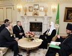 Святейший Патриарх Кирилл встретился с президентом Евангелической ассоциации Билли Грэма