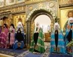 Предстоятель Русской Церкви совершил Литургию в Зачатьевском ставропигиальном монастыре и возглавил хиротонию архимандрита Саввы (Никифорова) во епископа Валуйского и Алексеевского