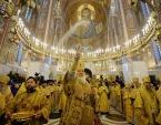 Святейший Патриарх Кирилл освятил храм Покрова Пресвятой Богородицы в Ясеневе