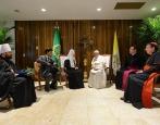 Святейший Патриарх Кирилл встретился с Раулем Кастро Рус