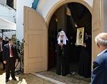 В праздник Сретения Господня Предстоятель Русской Церкви совершил Литургию в храме Покрова Пресвятой Богородицы в столице Парагвая Асунсьоне