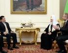 Святейший Патриарх Кирилл встретился с Президентом Республики Парагвай Орасио Картесом