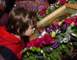 Икону Спасителя с частицей Тернового венца встретили в Гродно