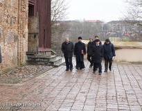 Губернатор Гродненской области и мэр Гродно с рабочим визитом посетили Коложскую церковь