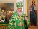 Святейший Патриарх Кирилл вознес молитвы о упокоении погибших в результате авиакатастрофы в Ростове-на-Дону