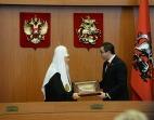 Предстоятель Русской Православной Церкви встретился с депутатами Московской городской Думы