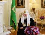 Встреча Святейшего Патриарха Кирилла с послом Великобритании в России Л. Бристоу