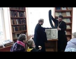 Выстава напрастольных Евангелляў з рызніцы Свята-Пакроўскага кафедральнага сабора