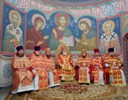 В четверг Светлой седмицы митрополит Павел совершил Литургию в Спасо-Евфросиниевском женском монастыре города Полоцка