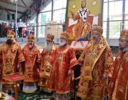 Патриарший Экзарх возглавил торжества в честь дня памяти святителя Кирилла Туровского