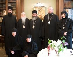 Митрополит Филарет принял делегацию Кипрской Православной Церкви