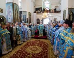 Патриарший Экзарх всея Беларуси возглавил торжества в честь праздника Жировичской иконы Божией Матери