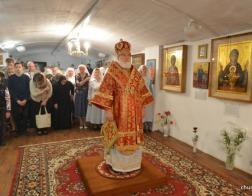 В день памяти апостола Иоанна Богослова митрополит Павел совершил Литургию в Богоявленском храме города Минска