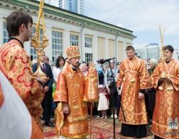 В Минске состоялись торжества в честь дня памяти равноапостольных Мефодия и Кирилла