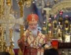 Во вторник Светлой седмицы Святейший Патриарх Кирилл совершил Литургию в Троице-Сергиевой лавре