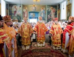 В день памяти праведного Иоанна Кормянского митрополит Павел возглавил Литургию в Иоанно-Кормянском монастыре
