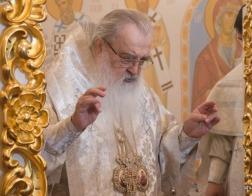 В праздник Вознесения Господня митрополит Филарет возглавил Литургию в домовом храме Минского епархиального управления