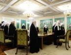 Состоялся брифинг по итогам экстренного заседания Священного Синода Русской Православной Церкви