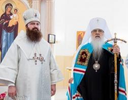 Митрополит Филарет и епископ Слуцкий Антоний совершили великое освящение храма Вознесения Господня города Несвижа