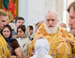 В канун празднования Собора Белорусских святых митрополит Павел совершил всенощное бдение в Свято-Духовом кафедральном соборе города Минска