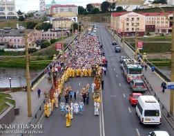В Гродно прошел Крестный ход в честь Собора Всех Белорусских Святых