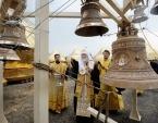 Предстоятель Русской Церкви побывал на месте строительства православного комплекса в поселке Вятский Посад