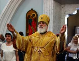 В Неделю 6-ю по Пятидесятнице Патриарший Экзарх совершил Литургию в Свято-Духовом кафедральном соборе города Минска