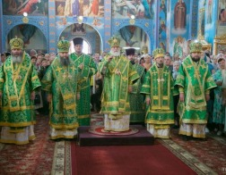 В день памяти пророка Божия Илии митрополит Павел возглавил Литургию в Спасо-Преображенском кафедральном соборе города Слонима