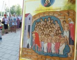 Храму сорока мучеников Севастийских в деревне Костыки исполнилось 260 лет