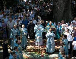 В праздник Успения Пресвятой Богородицы митрополит Павел и архиепископ Гурий совершили Литургию в Жировичской обители