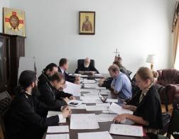 В Минской духовной академии состоялось заседание Ученого совета, посвященное началу 2016-2017 учебного года