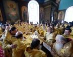 Святейший Патриарх Кирилл посетил праздничный концерт по случаю 870-летия Зарайска