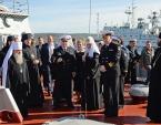 Святейший Патриарх Кирилл встретился с моряками Северного флота