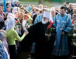 Митрополит Павел возглавил Литургию в храме в честь иконы Божией Матери «Всецарица» города Минска