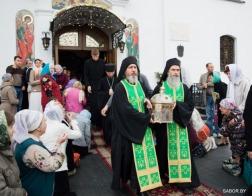 Более 51 000 человек поклонились честной главе преподобного Силуана Афонского во время ее пребывания в Минске
