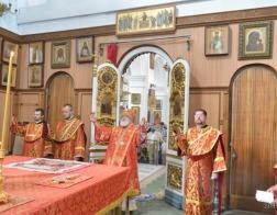 В праздник Усекновения главы Иоанна Предтечи Патриарший Экзарх совершил Литургию в Свято-Духовом кафедральном соборе города Минска