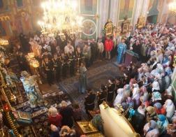 В праздник Рождества Пресвятой Богородицы Патриарший Экзарх посетил Гродненский Рождество-Богородичный монастырь