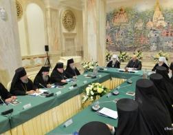 Состоялась встреча Синода Белорусской Православной Церкви с Президентом Республики Беларусь