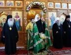 Патриарший визит в Южно-Сахалинскую епархию. Освящение храма в честь иконы Божией Матери «Призри на смирение» в Невельске