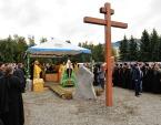 Предстоятель Русской Церкви заложил кафедральный собор в честь Всемилостивого Спаса в Горно-Алтайске