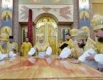 Предстоятель Русской Церкви освятил кафедральный собор Рождества Христова в г. Южно-Сахалинске