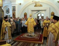 В Неделю 18-ю по Пятидесятнице Патриарший Экзарх совершил Божественную литургию в Свято-Духовом кафедральном соборе города Минска