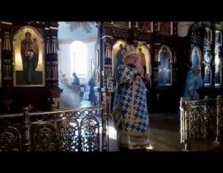 Архіепіскап Арцемій здзейсніў на Пакроў літургію ў гродзенскім саборы і адкрыў