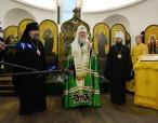 В лондонском здании, которое с 1813 по 1921 годы арендовалось под храм Русской Церкви, Святейший Патриарх Кирилл совершил молебен