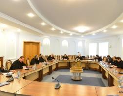 Состоялось заседание Епархиального совета Минской епархии