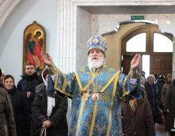 В праздник Казанской иконы Пресвятой Богородицы митрополит Павел совершил Литургию в Свято-Духовом кафедральном соборе города Минска
