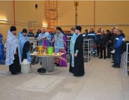 Архиепископ Полоцкий и Глубокский Феодосий освятил строительную площадку гидроузла Полоцкой ГЭС